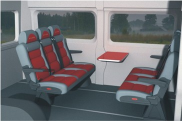 Пассажирский микроавтобус Бизнес-Купе (Микроавтобус-офис)