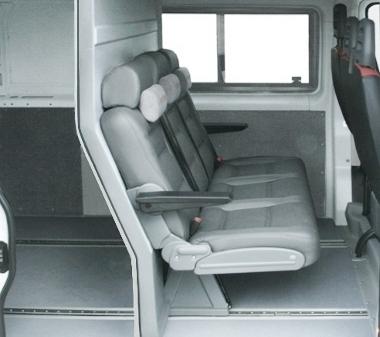 Грузопассажирский салон микроавтобуса Пежо Боксер (Peugeot Boxer)
