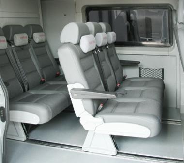 Салон-трансформер грузопассажирского микроавтобуса 9 мест Peugeot Boxer